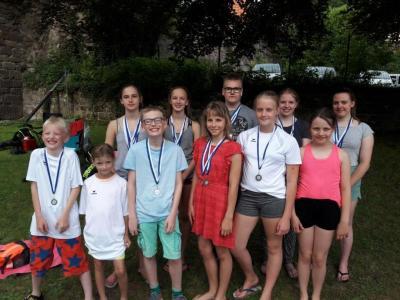 Foto zur Meldung: MTV-Schwimmer in Hardegsen