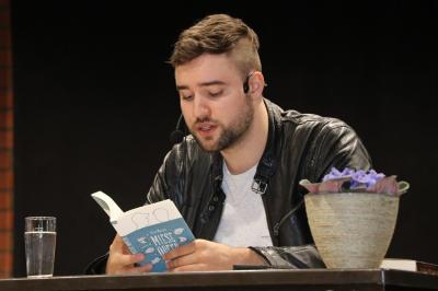 Vorschaubild zur Meldung: Lesung mit Silas Matthes