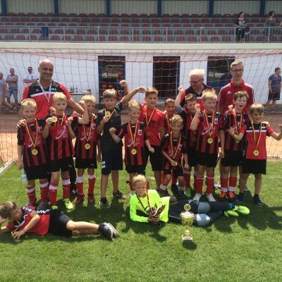 Foto zur Meldung: F-Junioren werden Meister im FK Südbrandenburg