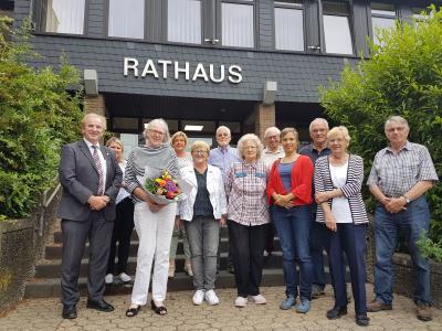 Foto zu Meldung: Margarete Weber als Vorsitzende des Seniorenbeirates verabschiedet