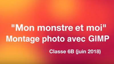 Vorschaubild zur Meldung: Classe 6b - Mon monstre et moi