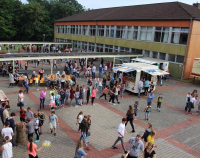 Vorschaubild zur Meldung: Projekttage und Schulfest an der Graf Salentin Schule