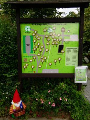 Eingang Kräutergarten