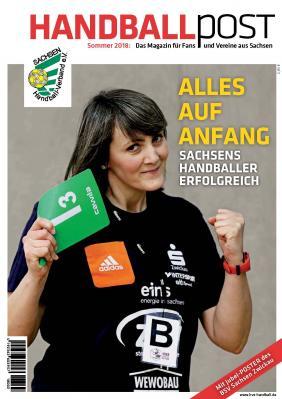 Vorschaubild zur Meldung: Sommerausgabe Handballpost ab 22.06. im Handel