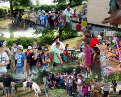 Foto zur Meldung: Kindertag - Schulfest