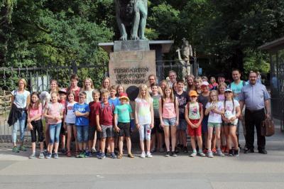 Foto zur Meldung: Ausflug der Ministranten- und des Kinderchores
