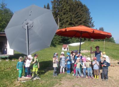 Vorschaubild zur Meldung: Danke für die gespendeten Sonnenschirme