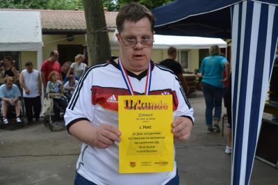 Foto zur Meldung: 27. Spiel- und Sportfest für Menschen mit Behinderung im Landkreis OSL