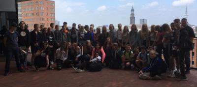 Foto zur Meldung: Tagesausflug der 7. Klassen nach Hamburg