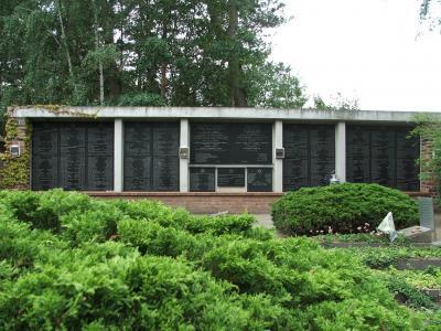 Namenstafel Jüdischer Friedhof