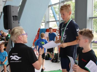 Foto zur Meldung: Schwimmen Sachsen-Talentiade in Leipzig