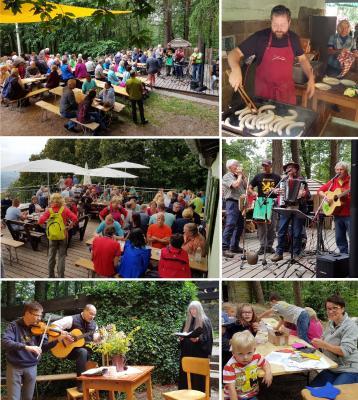 Foto zur Meldung: Hüttenfest 2018 - Nachlese
