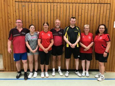 Foto zur Meldung: Tischtennis Vereinsmeisterschaften 2018