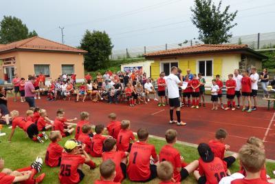 Foto zur Meldung: Informationen für alle Teilnehmer 11. Fußballcamp