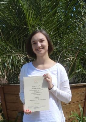 Michelle Kynast (Klasse 10d)
