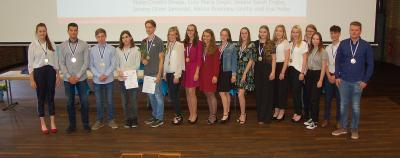 Foto zur Meldung: Beste Abiturienten der Stadt Brandenburg geehrt