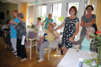 Vorschaubild zur Meldung: Sommerfest des AWO Seniorenpflegezentrums in Wittenberge