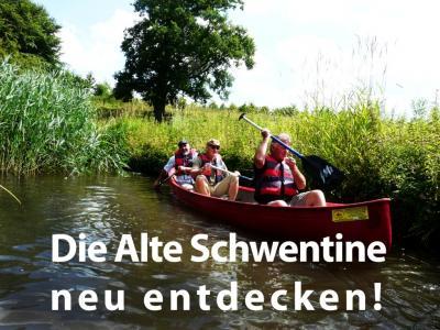 """Foto zur Meldung: """"Die alte Schwentine neu entdecken – eine kulturhistorische Landschaftsbetrachtung"""" - Holsteinseen präsentierte fesselnden Vortrag"""
