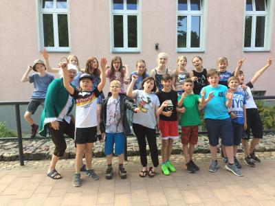 Vorschaubild zur Meldung: Klassenfahrt nach Beeskow