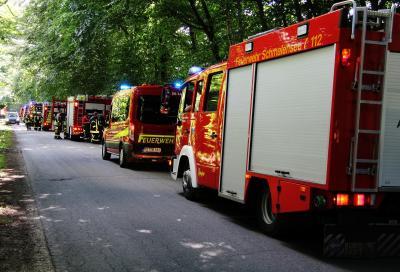Foto zur Meldung: Sorge vor Flächenbrand in Gönnebek am Samstagnachmittag schnell verpufft – Ergänzte Meldung