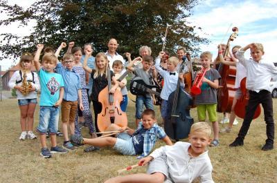 Foto zu Meldung: Ein Jahr Instrumentenkarussell