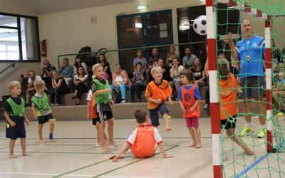 Foto zur Meldung: Viel Ballgefühl und vorbildliche Fairness