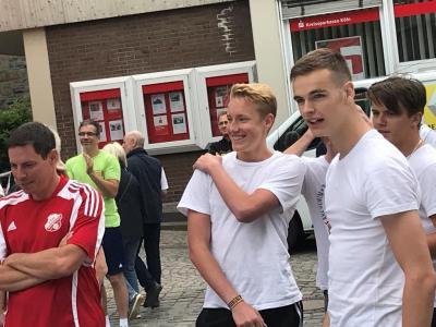 Vorschaubild zur Meldung: Team der Gesamtschule siegt im Biathlon