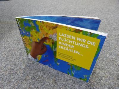 """Vorschaubild zur Meldung: Neue Dokumentation zum Pilotprojekt """"Lassen wir die Flüchtlingskinder erzählen..."""""""