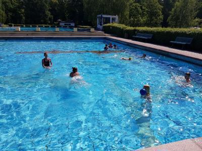 Foto zur Meldung: Schwimmlager 2018