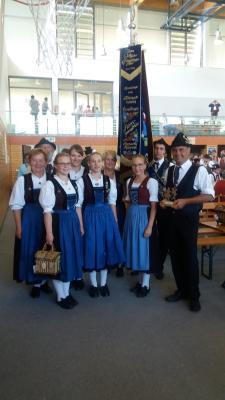Foto zur Meldung: Gautrachtenfest Salzweg