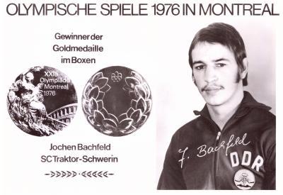 Foto zur Meldung: Der Sülter Jochen Bachfeld boxt sich in die Weltspitze - ein Abend mit dem Olympiasieger