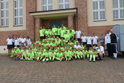 Foto zur Meldung: 11. Fußballcamp des ESV Lok Falkenberg