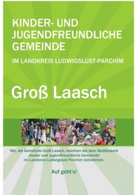 Foto zur Meldung: Gross Laasch - Bewerbung: Kinder- und Jugendfreundliche Gemeinde
