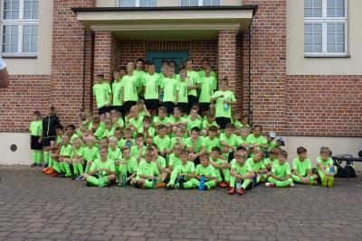 Foto zur Meldung: 11. Fußballcamp des ESV Lok Falkenberg - Tag 2