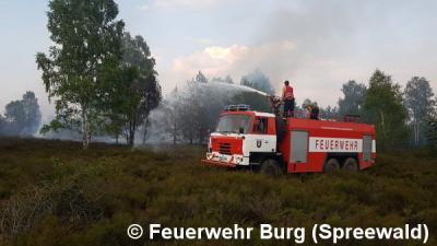 Vorschaubild zur Meldung: Einsatz Nr. 82/2018 - Wald- und Heidebrand in Lieberoser Heide
