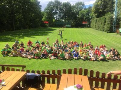 Foto zur Meldung: Faustball Schülercamp in Kubschütz