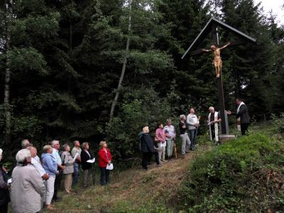 Foto zur Meldung: Feierliche Einweihung des Christus-Korpus' in der Haberleite