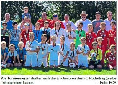 Vorschaubild zur Meldung: Gastgeber Ruderting behält Cup; 3:0 im Finale gegen DJK Eintracht