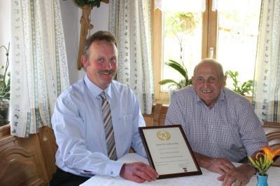 Foto zu Meldung: Zum 90. Geburtstag von Otto Kuffner