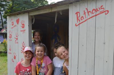 Die neuen Bewohner in der Kinderstadt Rathenow im Sommer 2017. (Foto: N. Faltin, Stadt Nauen)