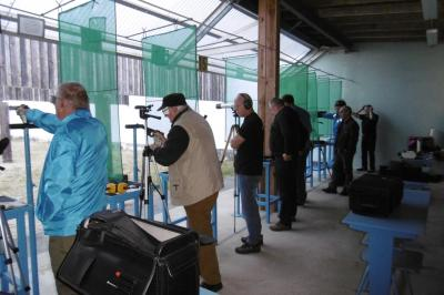 Foto zu Meldung: Kreismeisterschaften in Pistolenauflagedisziplinen in Kemberg / Oppin