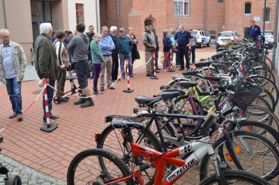 Fahrräder waren bei der Versteigerung im Jahr 2016 besonders beliebt.