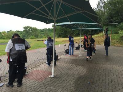 Foto zu Meldung: Landesmeisterschaft Wurfscheibe Trap in Ballenstedt