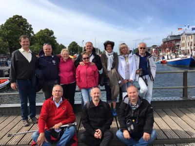 Foto zu Meldung: Der Städtepartnerschaftsverein Malchin e.V. hatte Besuch aus Ungarn