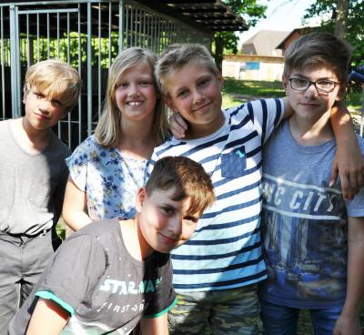Foto zur Meldung: Gross Laasch - Ferienspiele