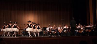 Foto zur Meldung: Prachtvolles Konzert lässt Schuljahr ausklingen