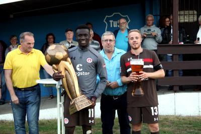 Foto zu Meldung: St Pauli U23 gewinnt Pokalwochen 2018