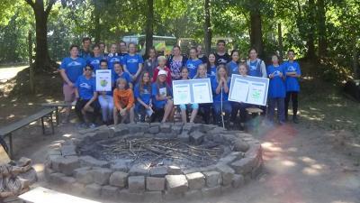 Foto zur Meldung: Exzellenz-Wassercamp und Ausbildung für Betreuer im Wildpark Eekholt