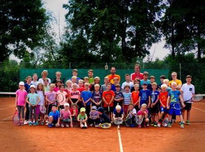Foto zur Meldung: 45 Kinder beim Sommer Jugendcamp