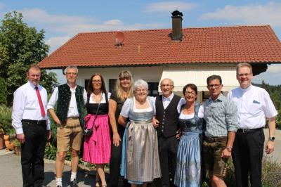 Foto zu Meldung: Eine sehr gelungene harmonische Feier zum 80. Geburtstag von Franziska Rausch